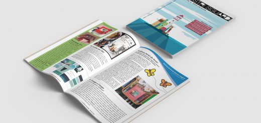 I nostri sguardi A1 N1 - La rivista della biblioteca - mockup