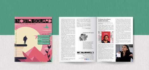 I nostri sguardi A2 N1 - La rivista della biblioteca - mockup