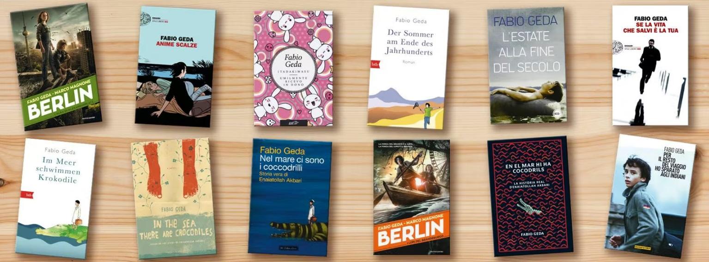 Conosciamo meglio Fabio Geda: alcune copertine dei suoi libri