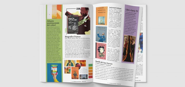 I nostri sguardi A2 N2 - La rivista della biblioteca - mockup