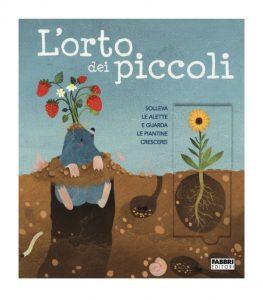 """""""L'orto dei piccoli"""" - copertina libro edito da Fabbri"""