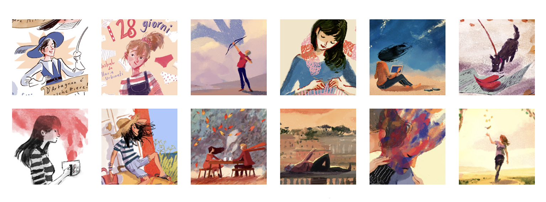 Illustrazioni varie di Ilaria Urbinati