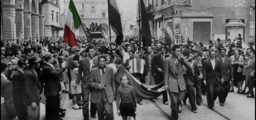 Film e resistenza - 25 aprile: foto marcia Resistenza