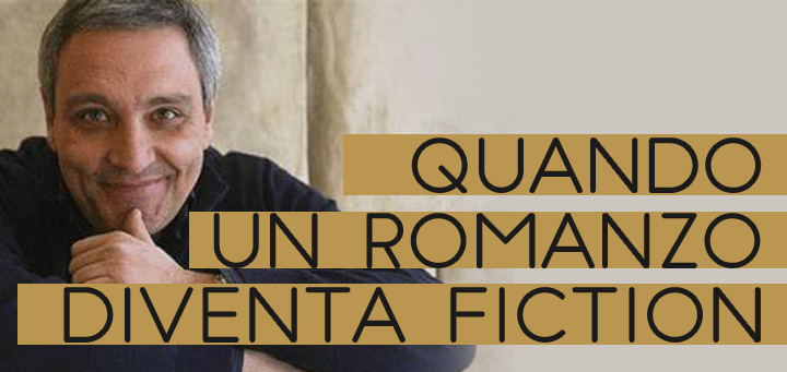 Foto di De Giovanni con titolo: Quando un romanzo diventa fiction