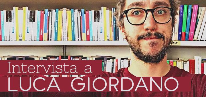 "Foto Luca Giordano con titolo ""Intervista a Luca Giordano"""
