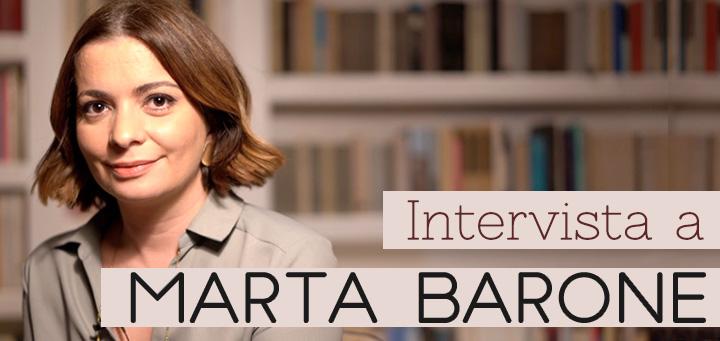 """Foto Marta Barone e titolo: """"intervista a Marta Barone"""""""