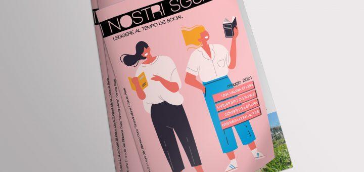 I nostri sguardi A2 N5 - La rivista della biblioteca - mockup