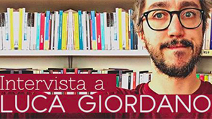 """Foto Luca Giordano con titolo """"Intervista a Luca Giordano"""" per cover """"articoli più letti"""""""