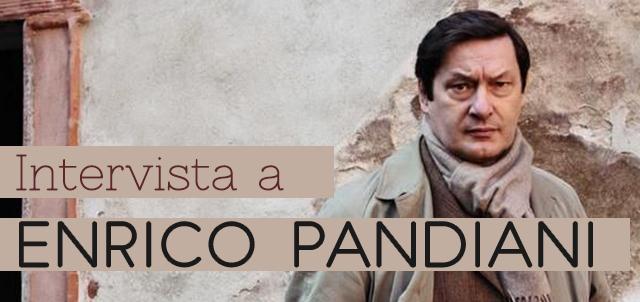Intervista a Enrico Pandiani - immagine di copertina con foto autore e titolo