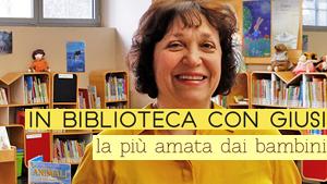 """In biblioteca con Giusi - cover """"articoli più letti"""" - Titolo: La più amata dai bambini"""