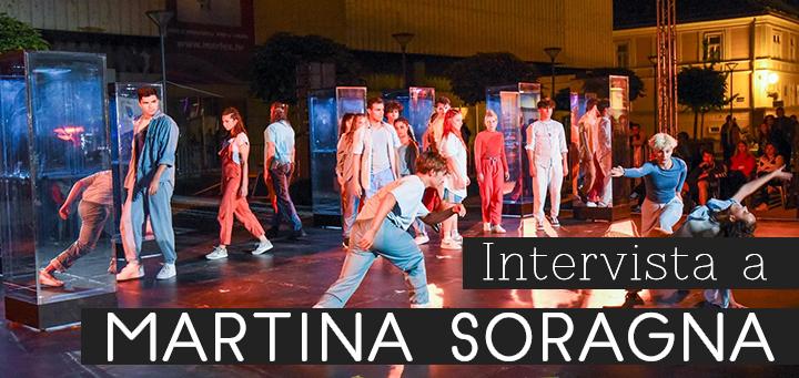 Intervista a Martina Soragna - immagine di copertina con foto PPP allo Špancirfest